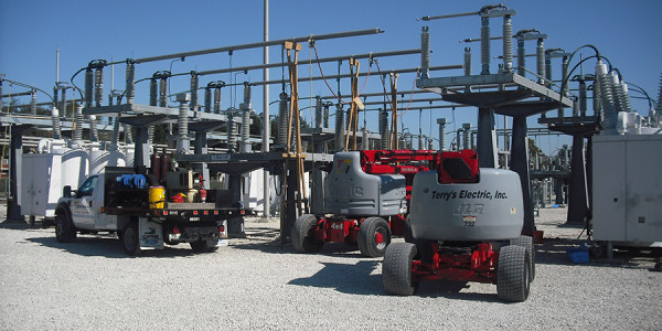 Substation Equipment - Terry's Electric
