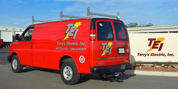 Terry's Electric Van