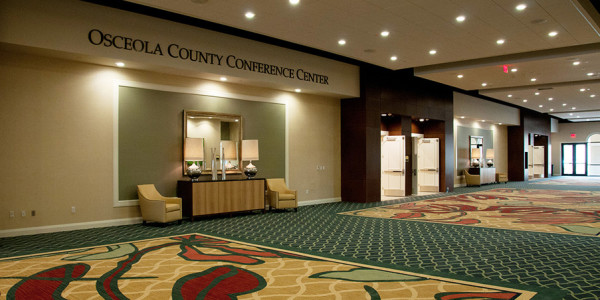 Osceola County Convention Center - Interior - Terry's Electric